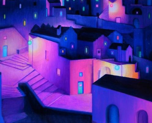 Yogyami-La notte viola